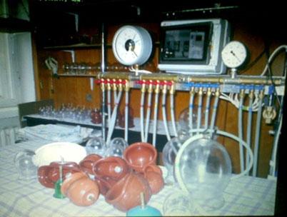 Рис. 3 Автоматическая вакуумная установка Смирнова Ю.