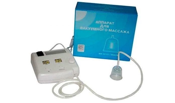 Инструкция к прибору ВМ-1 для вакуумного массажа