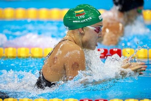 Литовская пловчиха Рута Мейлутите, Олимпиада 2016 в Рио