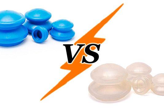 Сравнение резиновых и силиконовых антицеллюлитных банок. Что лучше?
