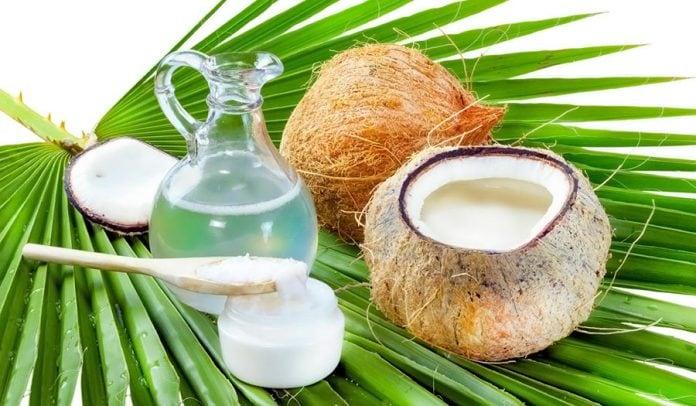 Кокосовое масло в косметологии, польза для кожи лица