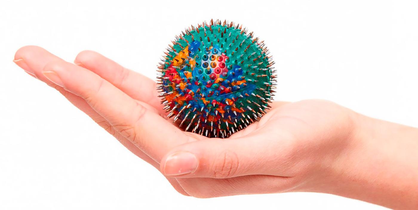 Игольчатый мячик Ляпко