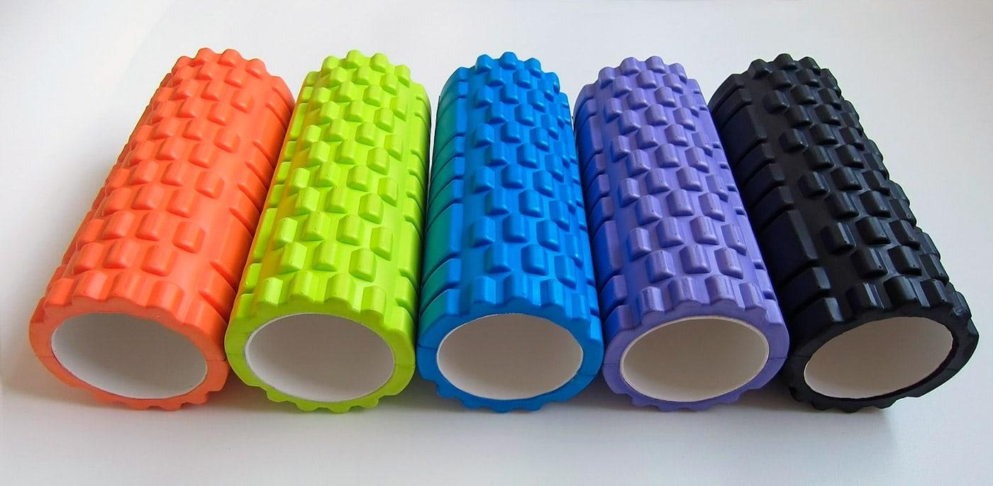 Ролики и цилиндры для миофасциального расслабления мышц