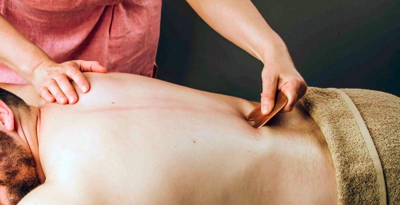 Китайский массаж гуа ша