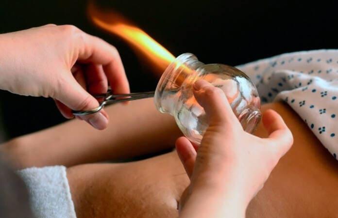 Метод нагревания стеклянной банки